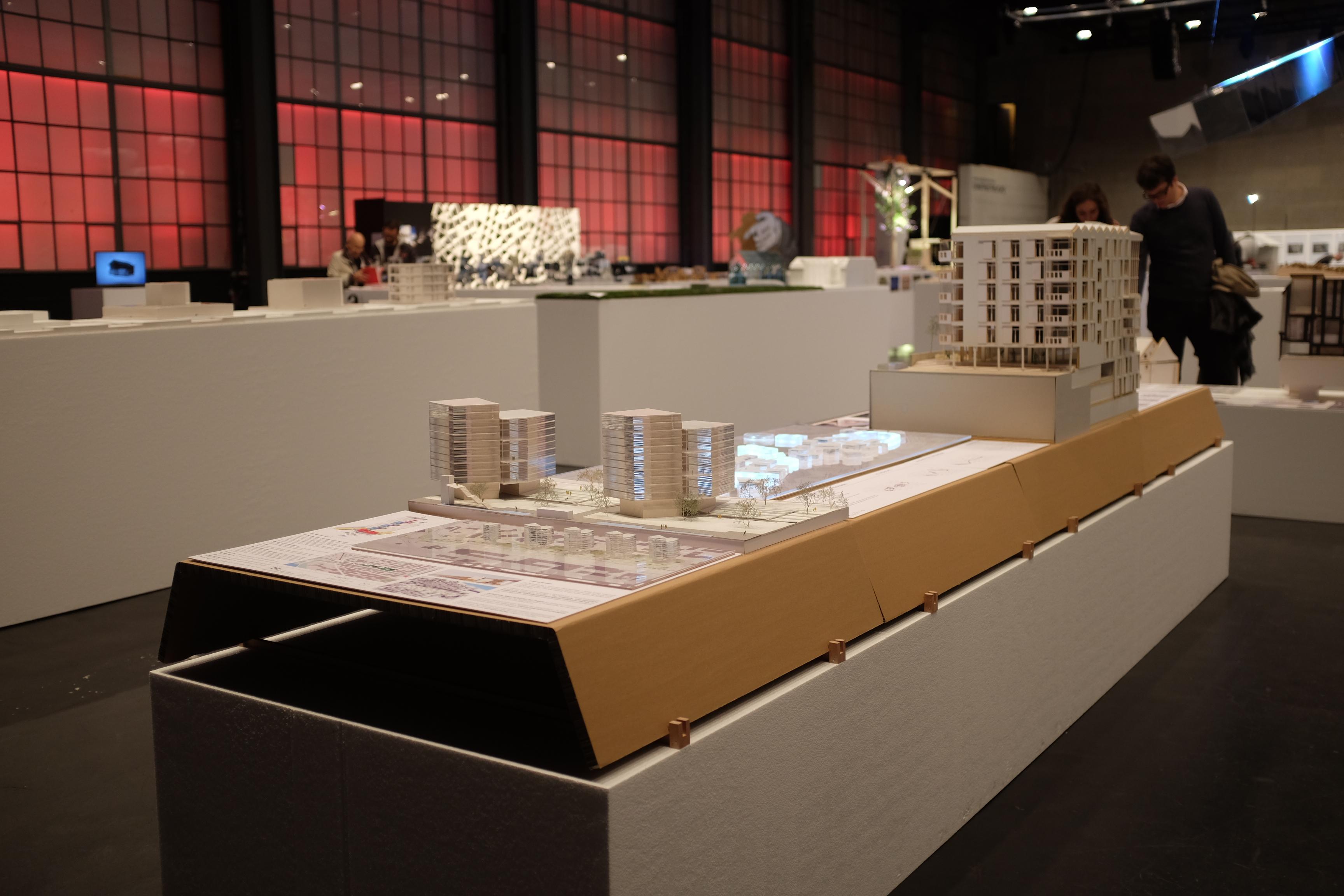 Le projet Métapolis au centre illuminé de LED